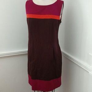 NEW Laundry by Shelli Segal Knit Block Dress Sz8